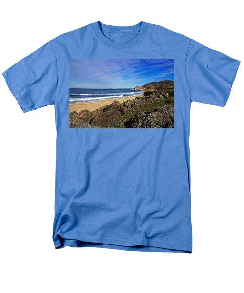 Coastal Beauty Men's T-Shirt  (Regular Fit) by Dave Files