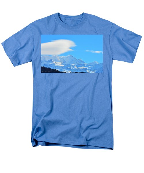 Cold And Sunny Alps Men's T-Shirt  (Regular Fit) by Felicia Tica