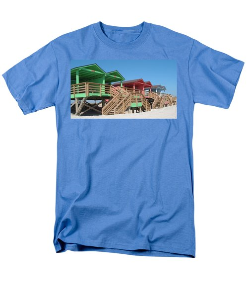 Colorful Cabanas Men's T-Shirt  (Regular Fit)