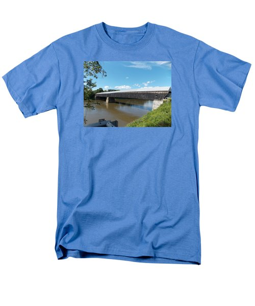 Cornish Windsor Bridge Men's T-Shirt  (Regular Fit) by Catherine Gagne