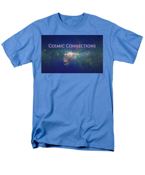 Cosmic Connections Men's T-Shirt  (Regular Fit) by Lanita Williams