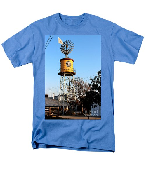 Cotton Belt Route Water Tower In Grapevine Men's T-Shirt  (Regular Fit)
