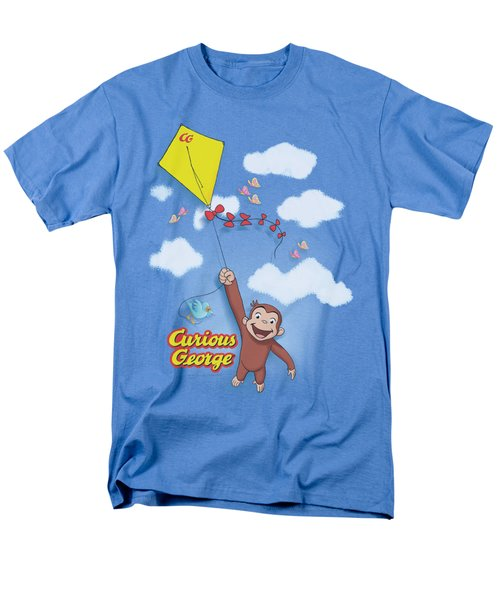 Curious George - Flight Men's T-Shirt  (Regular Fit)