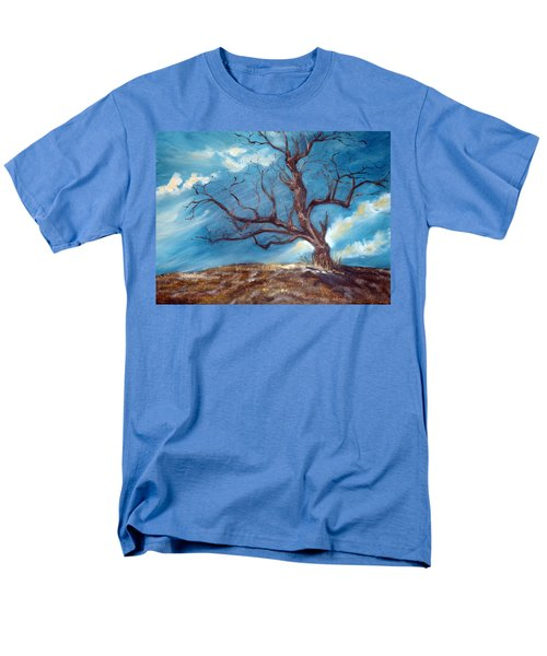 Men's T-Shirt  (Regular Fit) featuring the painting Daddy's Tree by Meaghan Troup