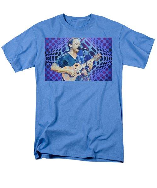Dave Matthews Pop-op Series Men's T-Shirt  (Regular Fit) by Joshua Morton