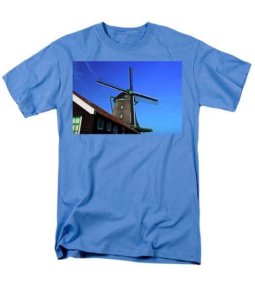 Men's T-Shirt  (Regular Fit) featuring the photograph De Zoeker Blue Skies by Jonah  Anderson