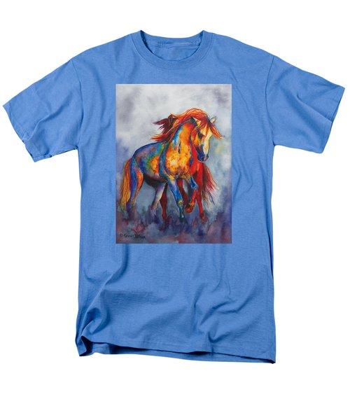 Desert Dance Men's T-Shirt  (Regular Fit) by Karen Kennedy Chatham