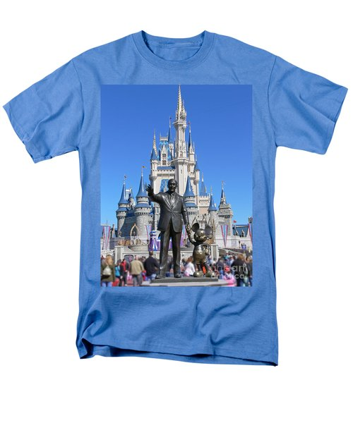 Disney And Mickey Men's T-Shirt  (Regular Fit) by Kevin Fortier