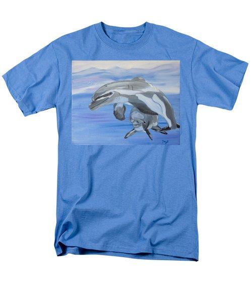 Sublime Dolphins Men's T-Shirt  (Regular Fit) by Meryl Goudey