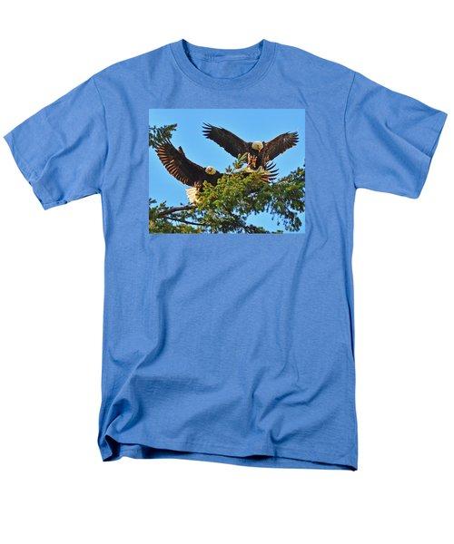 Double Landing Men's T-Shirt  (Regular Fit) by Jack Moskovita