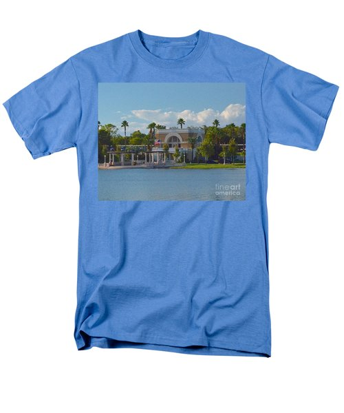 Down By The Station Men's T-Shirt  (Regular Fit) by Carol  Bradley