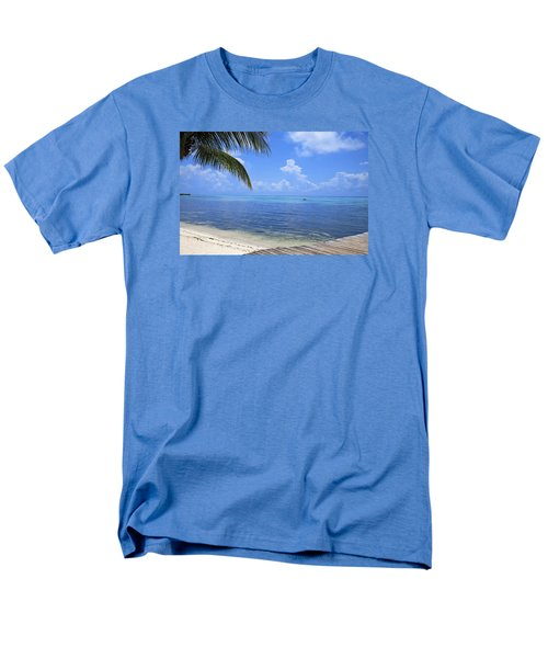 Down Island Men's T-Shirt  (Regular Fit) by Stephen Anderson