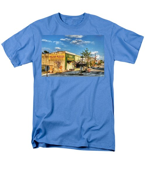 Downtown Milan Men's T-Shirt  (Regular Fit)