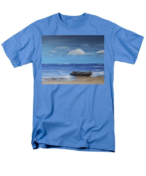 Driftwood Men's T-Shirt  (Regular Fit) by Dick Bourgault