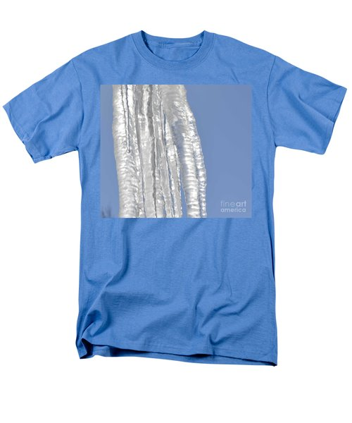 Men's T-Shirt  (Regular Fit) featuring the photograph Drip Caught In Action by Luther Fine Art