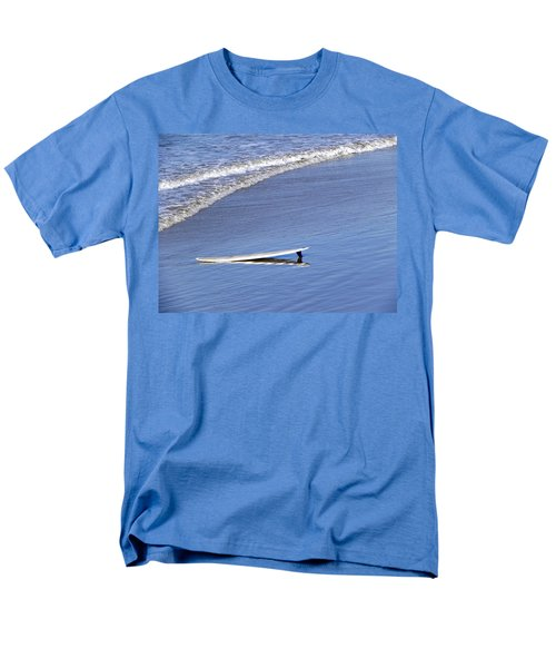 Men's T-Shirt  (Regular Fit) featuring the photograph Dude Where Is My Surfer by Kathy Churchman