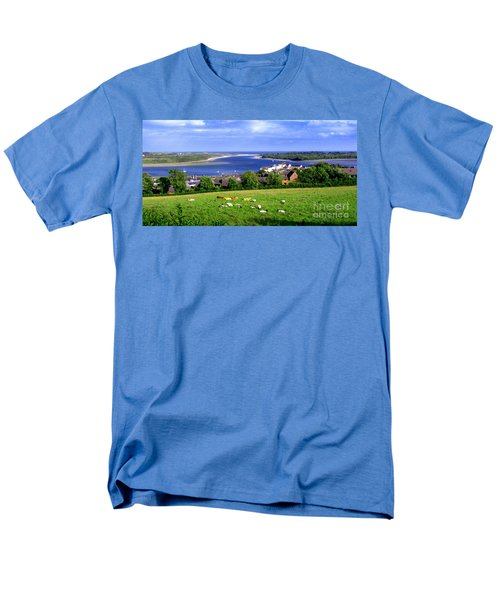 Men's T-Shirt  (Regular Fit) featuring the photograph Dundrum Bay In County Down Ireland by Nina Ficur Feenan