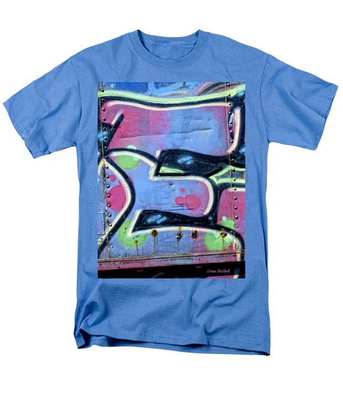 E Is For Equality Men's T-Shirt  (Regular Fit) by Donna Blackhall