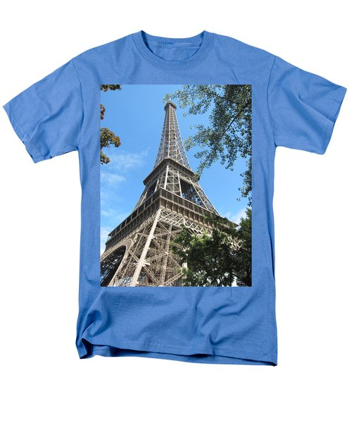 Men's T-Shirt  (Regular Fit) featuring the photograph Eiffel Tower - 2 by Pema Hou