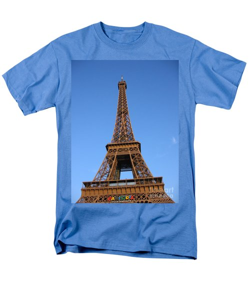 Eiffel Tower 2005 Ville Candidate Men's T-Shirt  (Regular Fit) by HEVi FineArt