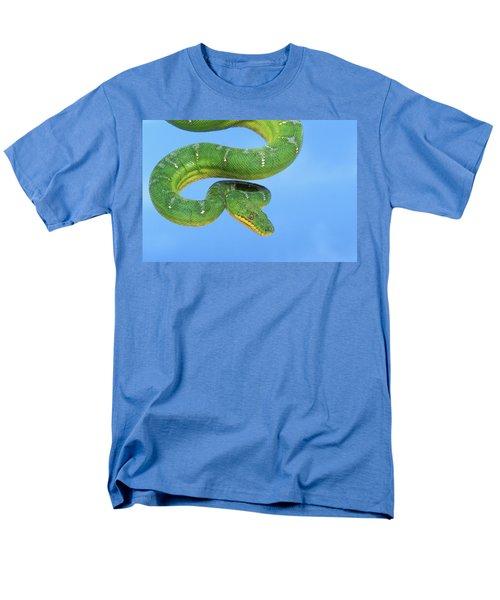 Emerald Tree Boa Corallus Caninus Men's T-Shirt  (Regular Fit) by Thomas Kitchin & Victoria Hurst