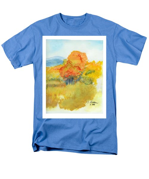 Fall Trees 2 Men's T-Shirt  (Regular Fit) by C Sitton