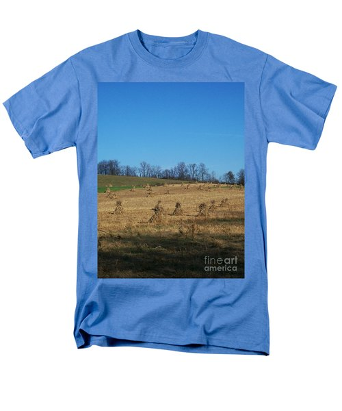 Men's T-Shirt  (Regular Fit) featuring the photograph Farm Days by Sara  Raber