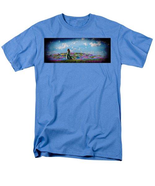 Field Of Flowers... Men's T-Shirt  (Regular Fit)