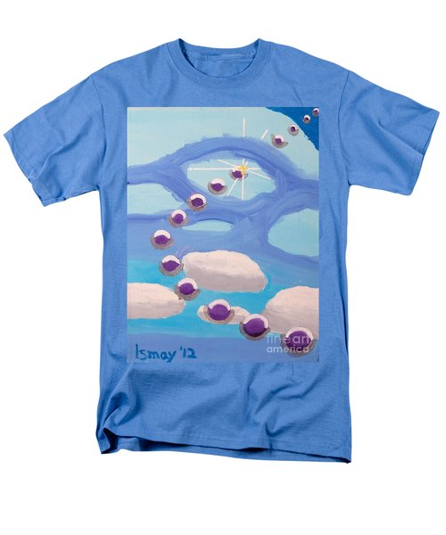 Men's T-Shirt  (Regular Fit) featuring the painting Finding Personal Peace by Rod Ismay