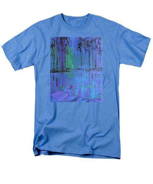 Fireflies Men's T-Shirt  (Regular Fit) by Patricia Olson