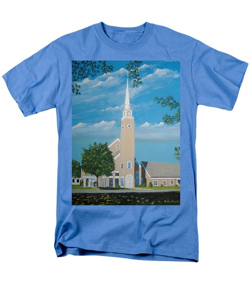 First Congregational Church Men's T-Shirt  (Regular Fit) by Norm Starks