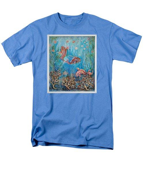 Fish In A Pond Men's T-Shirt  (Regular Fit) by Yolanda Rodriguez
