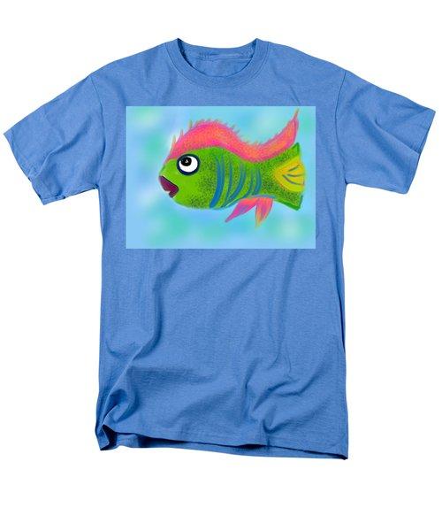Men's T-Shirt  (Regular Fit) featuring the digital art Fish Wish by Christine Fournier