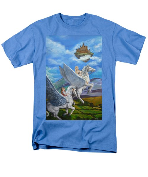 Flights Of Fancy Men's T-Shirt  (Regular Fit) by Bryan Bustard