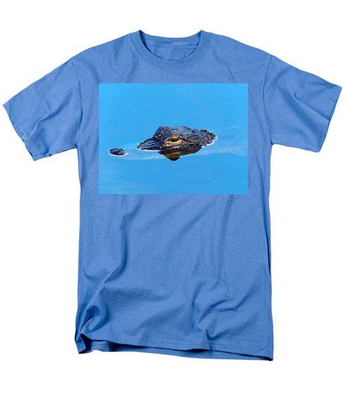 Floating Gator Eye Men's T-Shirt  (Regular Fit) by Chris Mercer