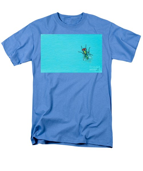 Fly On The Wall Men's T-Shirt  (Regular Fit) by Stefanie Forck