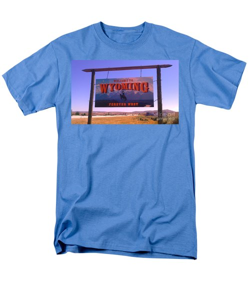 Forever West Men's T-Shirt  (Regular Fit) by Chris Tarpening