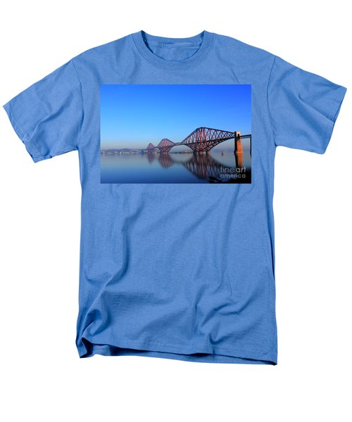 Men's T-Shirt  (Regular Fit) featuring the photograph Forth Rail Bridge by David Grant