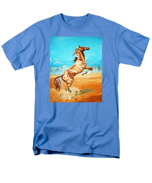 Men's T-Shirt  (Regular Fit) featuring the painting Free Spirit by Al Brown