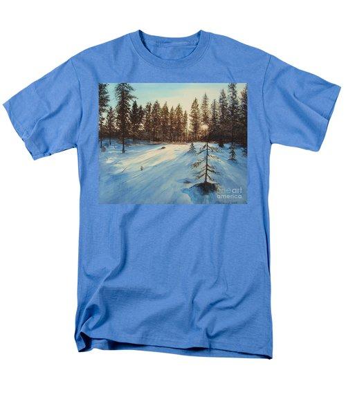 Freezing Forest Men's T-Shirt  (Regular Fit) by Martin Howard