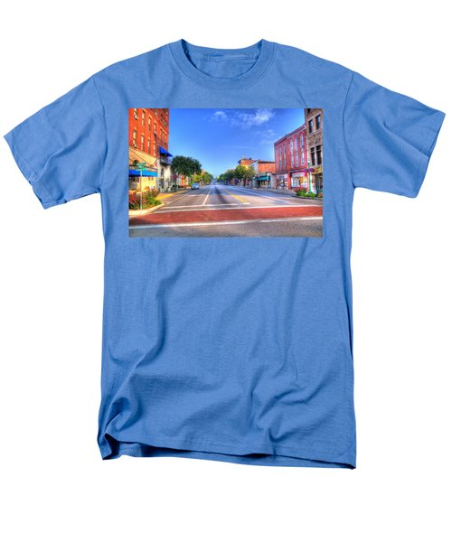 Men's T-Shirt  (Regular Fit) featuring the photograph Front Street Marietta by Jonny D