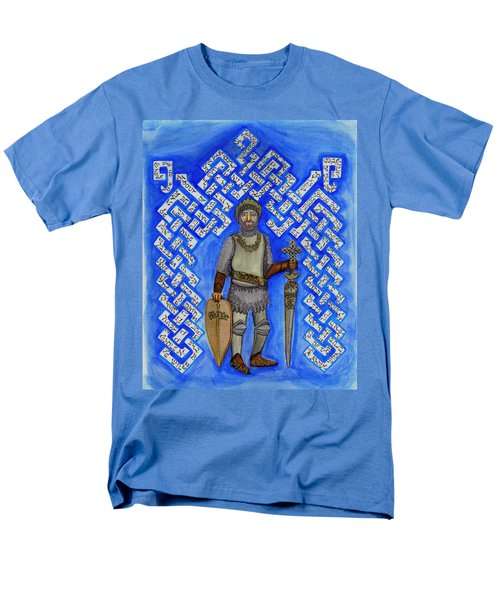 Full Armor Of Yhwh Man Men's T-Shirt  (Regular Fit) by Hidden  Mountain