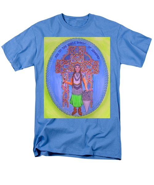 Full Armor Of Yhwh Woman Men's T-Shirt  (Regular Fit) by Hidden  Mountain