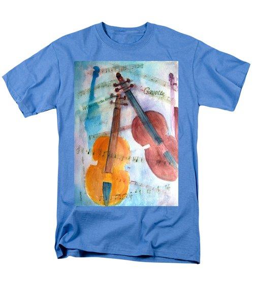 Gavotte Men's T-Shirt  (Regular Fit) by Sandy McIntire