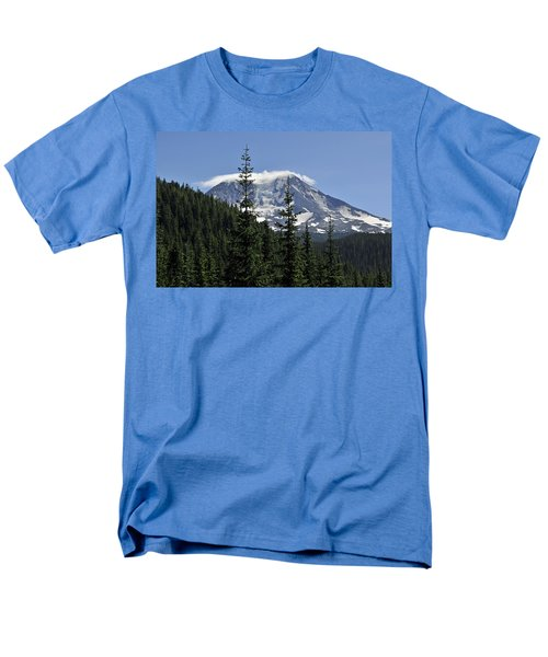 Gifford Pinchot National Forest And Mt. Adams Men's T-Shirt  (Regular Fit) by Tikvah's Hope
