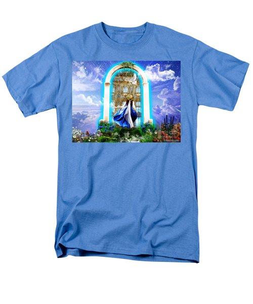 Glory Portal  Men's T-Shirt  (Regular Fit) by Dolores Develde