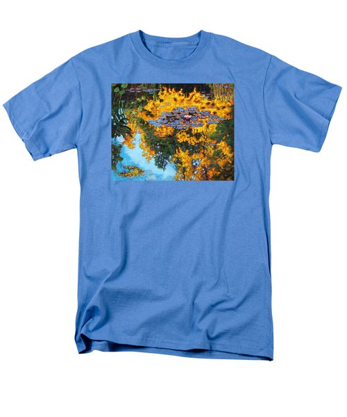 Gold Reflections Men's T-Shirt  (Regular Fit) by John Lautermilch