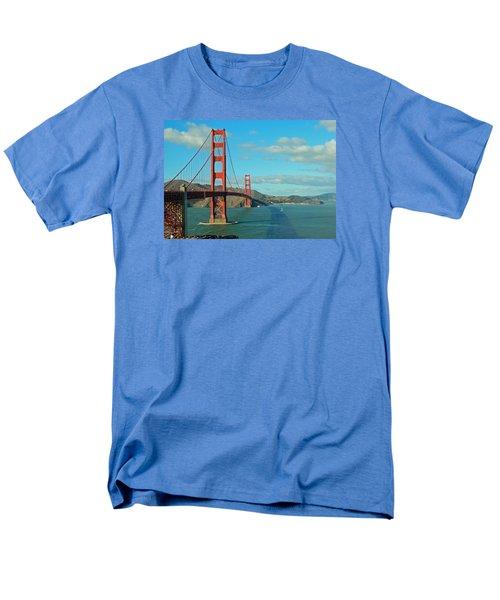 Golden Gate Bridge Men's T-Shirt  (Regular Fit) by Emmy Marie Vickers