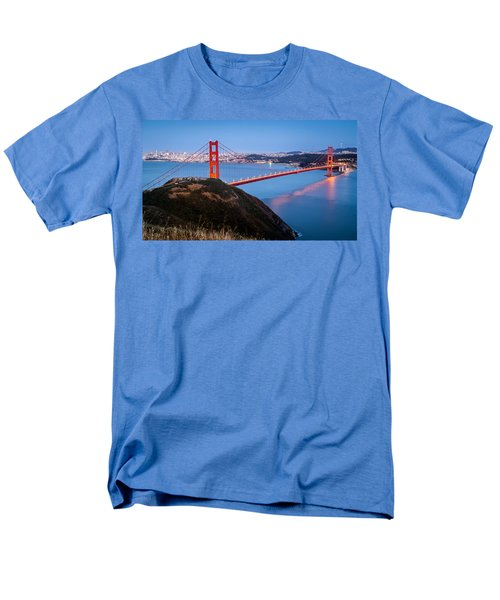 Men's T-Shirt  (Regular Fit) featuring the photograph Golden Gate Bridge by Mihai Andritoiu