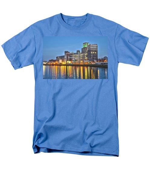 Grain Silo Rotterdam Men's T-Shirt  (Regular Fit) by Frans Blok